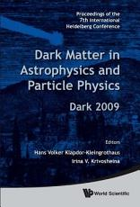 Dark Matter in Astrophysics and Particle Physics PDF