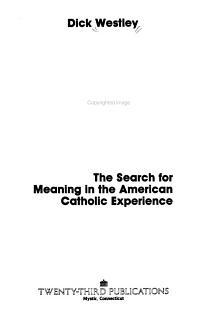 A Theology of Presence PDF