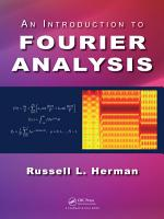 An Introduction to Fourier Analysis PDF