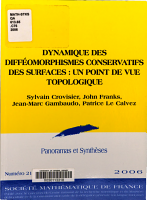Dynamics of conservative surfaces diffeomorphisms PDF