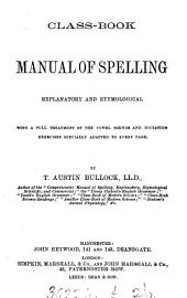 Class-book manual of spelling