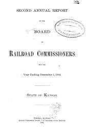 Report of the Board of Railroad Commissioners