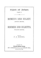Romeus and Iuliet0