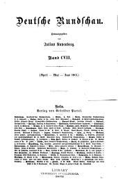 Deutsche Rundschau: Band 107