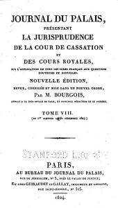 Journal du palais: Volume 5