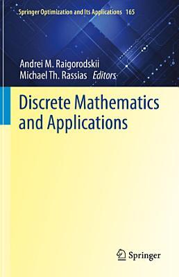 Discrete Mathematics and Applications PDF