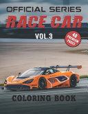 Race Car Coloring Book Vol3