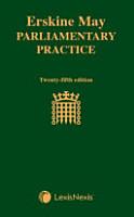 Erskine May  Parliamentary Practice PDF