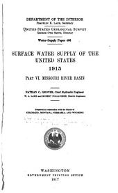 Water-supply Paper: Volumes 406-409