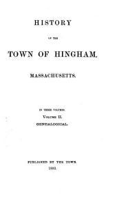 Lincoln, G. Hingham genealogies