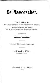De Navorscher: Een middel tot gedachtenwisseling en letterkundig verkeer tuschen allen, die iets weten, iets te vragen hebben of iets kunnen oplossen, Volume 36;Volume 1886