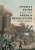 Thomas Paine and the French Revolution PDF