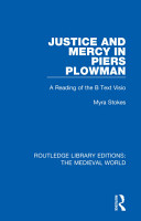 Justice and Mercy in Piers Plowman PDF