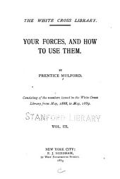 Your Forces, and how to Use Them: Volume 3
