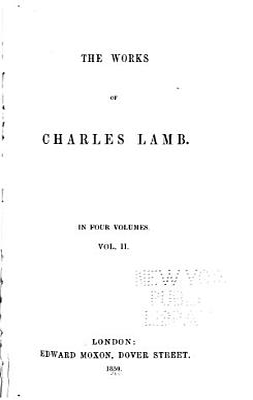 The Works of Charles Lamb PDF