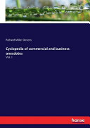 Cyclopedia of Commercial and Business Anecdotes