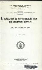 Evaluation of Motion-picture Film for Permanent Records