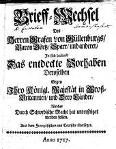 Briefwechsel des Herrn Grafen von Güllenburgs