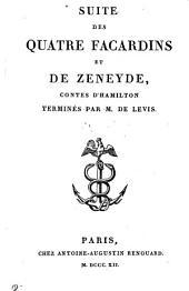 Suite des Quatre Facardins et de Zeneyde, contes d'Hamilton