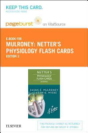 Netter's Physiology Flash Cards- Pageburst E-book on Vitalsource