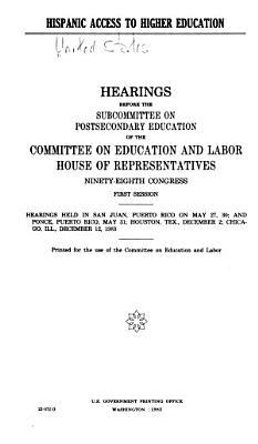 Hispanic Access to Higher Education PDF