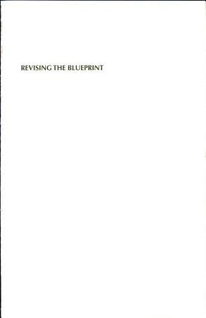 Revising the blueprint PDF