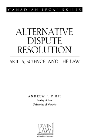 Qualifications For Dispute Resolution