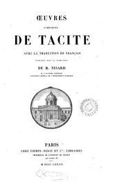 Oeuvres complètes de Tacite: avec la traduction en franc̦ais