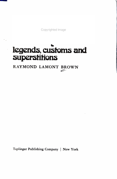 Phantoms of the Sea  Legends  Customs  and Superstitions PDF