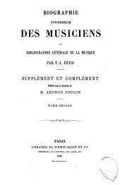 Supplément et complément: Volume2