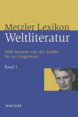 Metzler Lexikon Weltliteratur PDF