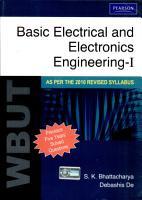 Basic Electrical And Electronics Engineering I  For Wbut  PDF