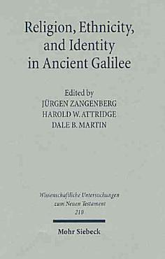 Religion  Ethnicity  and Identity in Ancient Galilee PDF