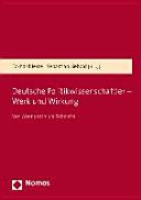 Deutsche Politikwissenschaftler    Werk und Wirkung PDF