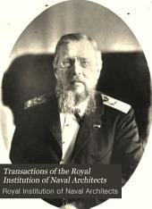 Transactions of the Royal Institution of Naval Architects: Volume 33