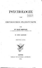 Psychologie vom empirischen Standpunkt: Band 1