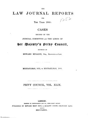 The Law Journal Reports PDF