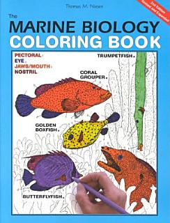 The Marine Biology Coloring Book  2e Book