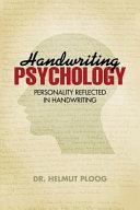 Handwriting Psychology