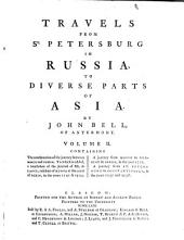 Travels from St. Petersburg, in Russia, to Diverse Parts of Asia: Volume 2