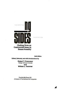 Clashing Views on Controversial Issues in Human Sexuality PDF
