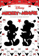 Art of Coloring  Mickey   Minnie Book