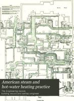 American Steam and Hot water Heating Practice PDF