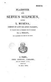 Plaidoyer pour Servius Sulpicius, contre L. Muréna