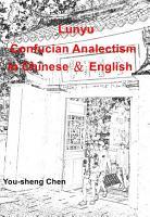 LunYu   Confucian Analects in English PDF