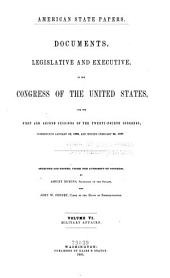 American State Papers: Documents, Legislative and Executive, of the Congress of the United States, Volume 5; Volume 21
