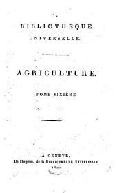 Bibliothèque universelle des sciences, belles-lettres, et arts: Volume6