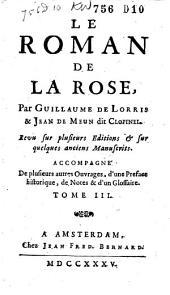 Le roman de la rose: Volume3