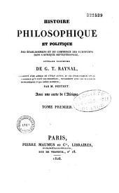 Histoire des établissements et du commerce des européens dans l'Afrique Septrionale: augmentée d'un aperçu de l'état actuel de ces établissements