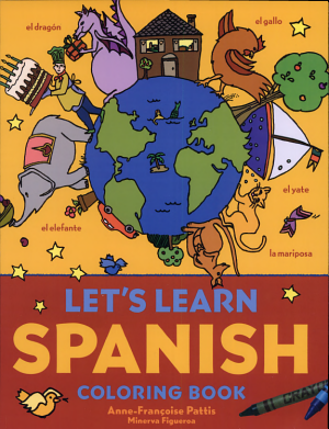 Let s Learn Spanish Coloring Book